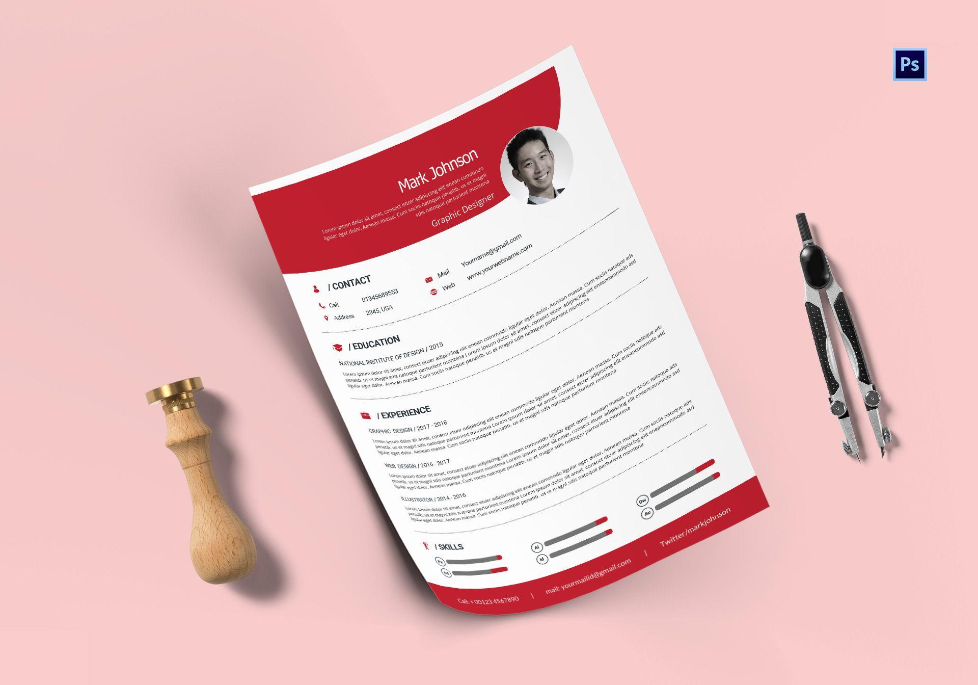 Professional Graphic Designer Resume