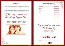 Funeral Bi-fold Brochure