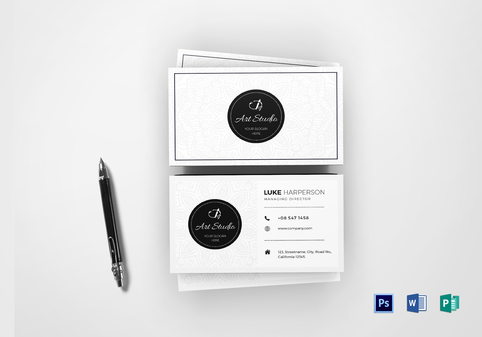 Art Director Business Card