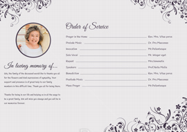 Eulogy Tri-fold Brochure