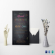 Chalk Board Wedding Breakfast Invitation