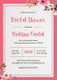 Bridal Shower Invitation Design Template