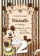Elegant Mickey Mouse Birthday Invitation Card Design Template