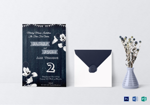/577/Wood-Work-Mickey-Mouse-Invitation