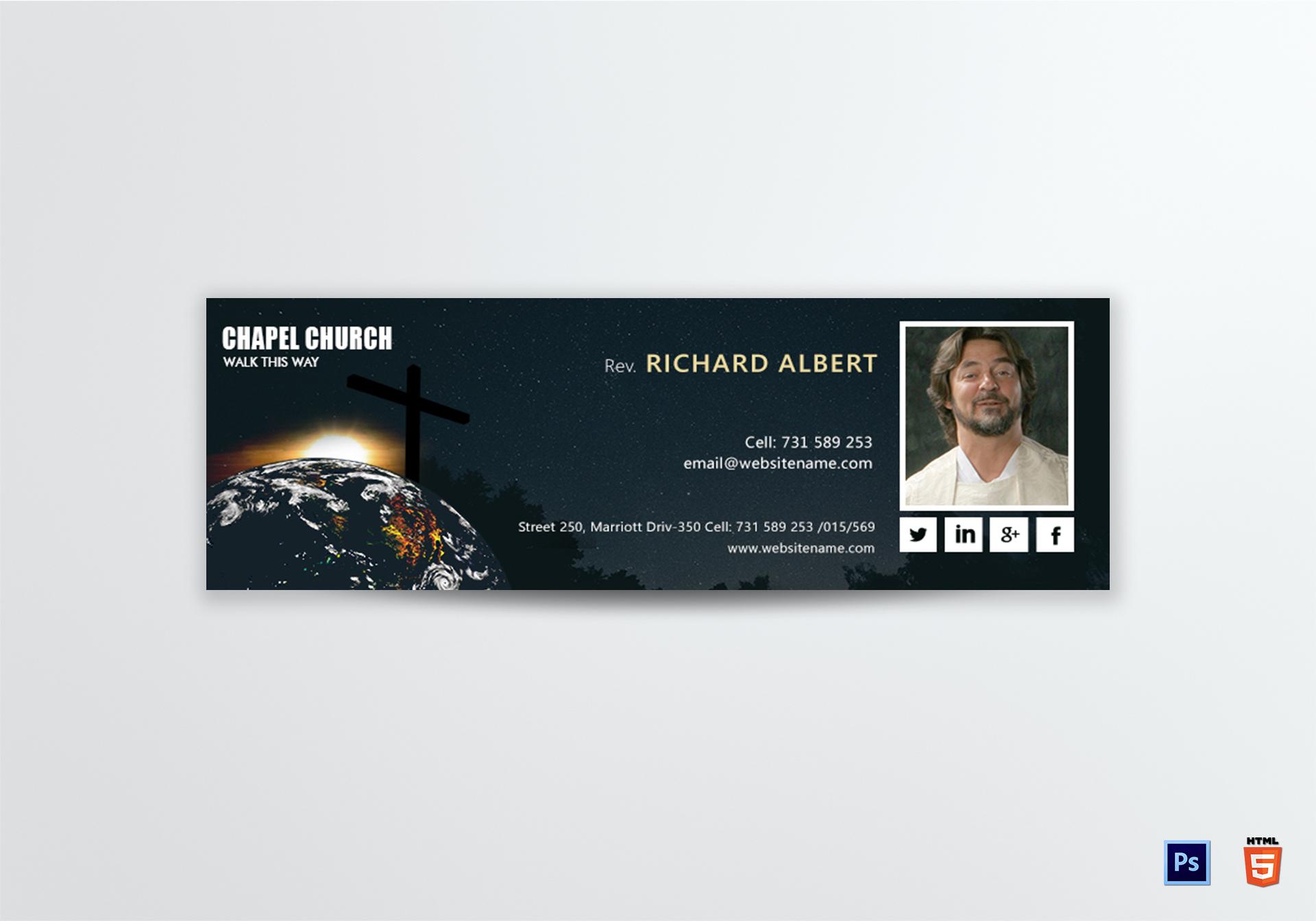 Church Email Signature