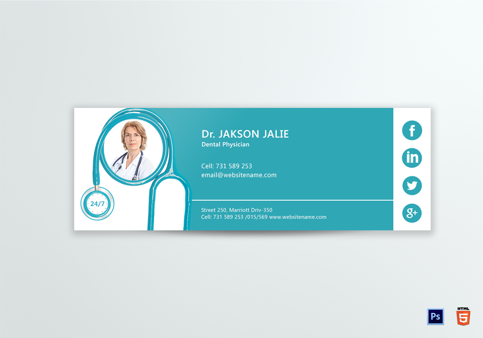 Dental Care Email Signature