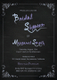 Chalkboard Bridal Shower Invitation Design Template