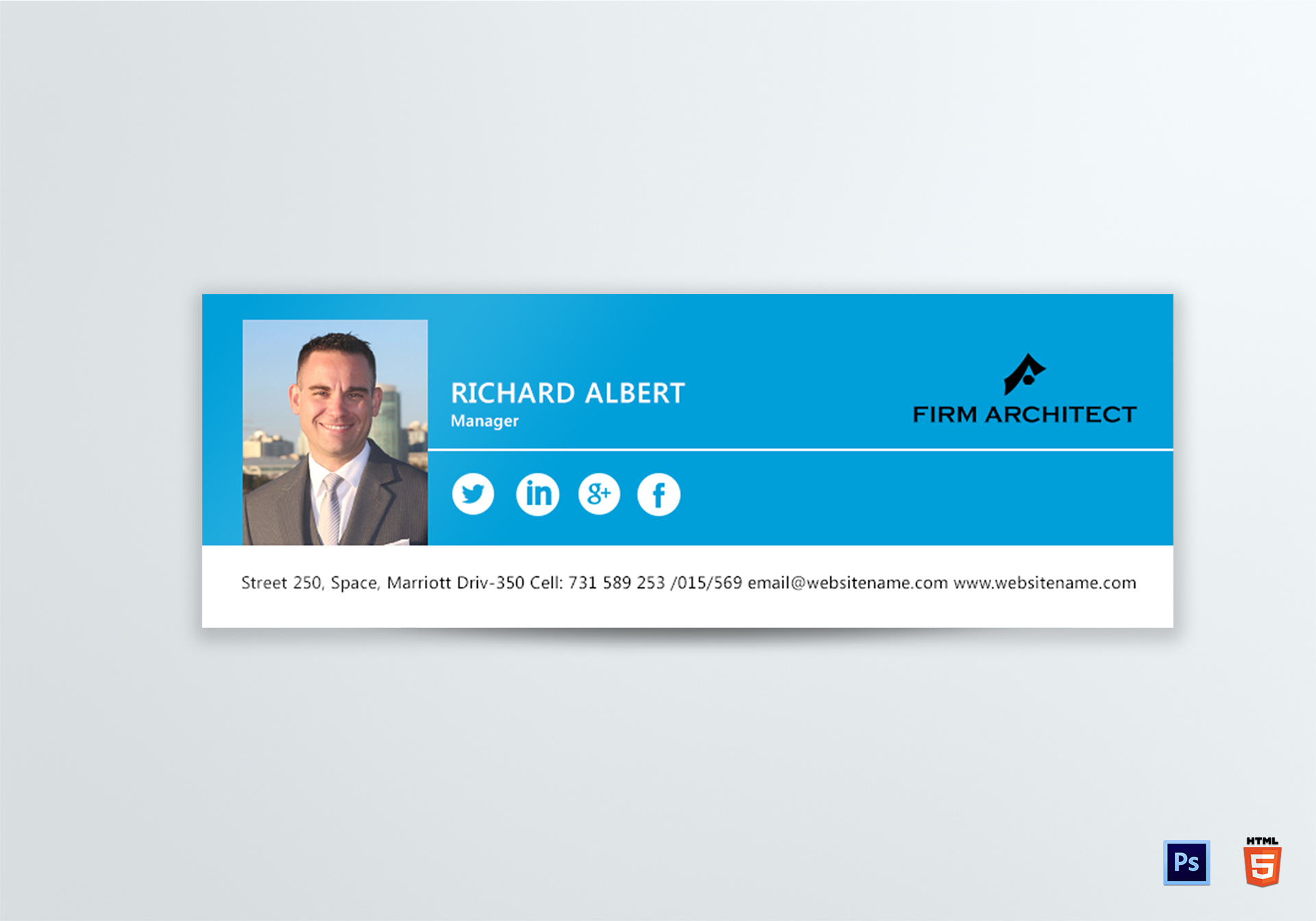 Design Architect Email Signature