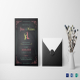 Chalkboard Wedding Invitation Template