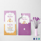 Colorful Baby Shower Invitation Card Template