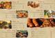 Retro Food Menu Bifold Design Template