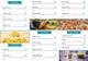 Trifold Food Menu Design Template