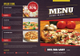 Pizza Menu Bifold Template