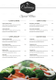 Food Catering Service Menu Design Template