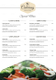 Catering Service Menu Template