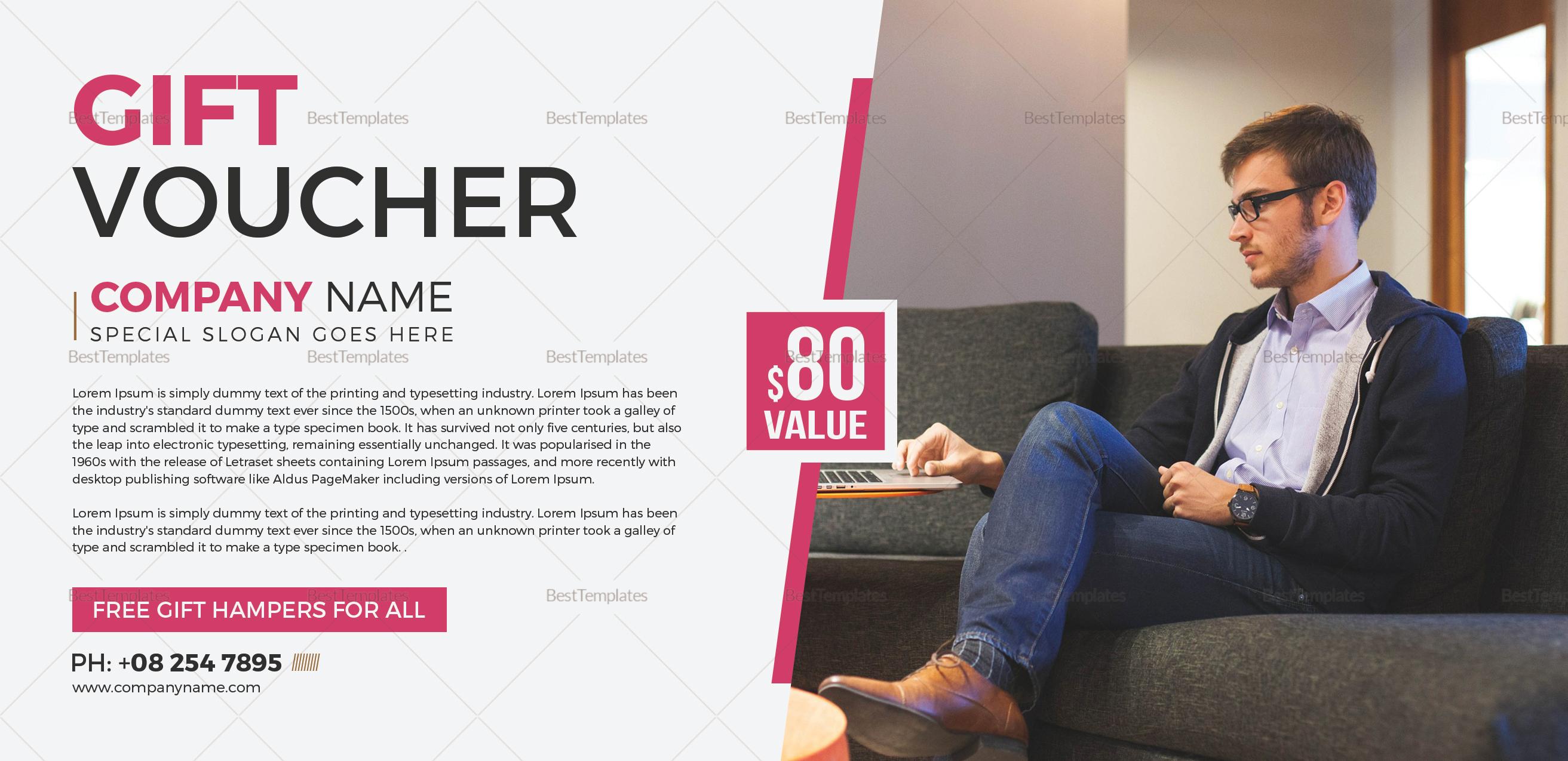 Business Voucher Design Template