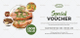 Modern Food Voucher Design Template