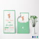 Baby Shower Announcement Invitation Template