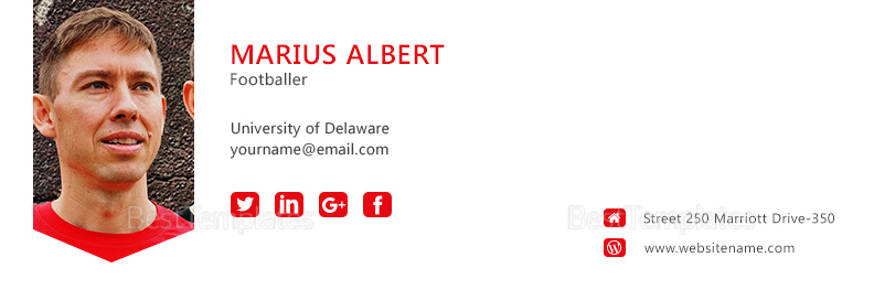 Professional Email Signature Design Template