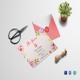 Floral Debut Invitation Design