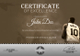 Basketball Award Certificate Template