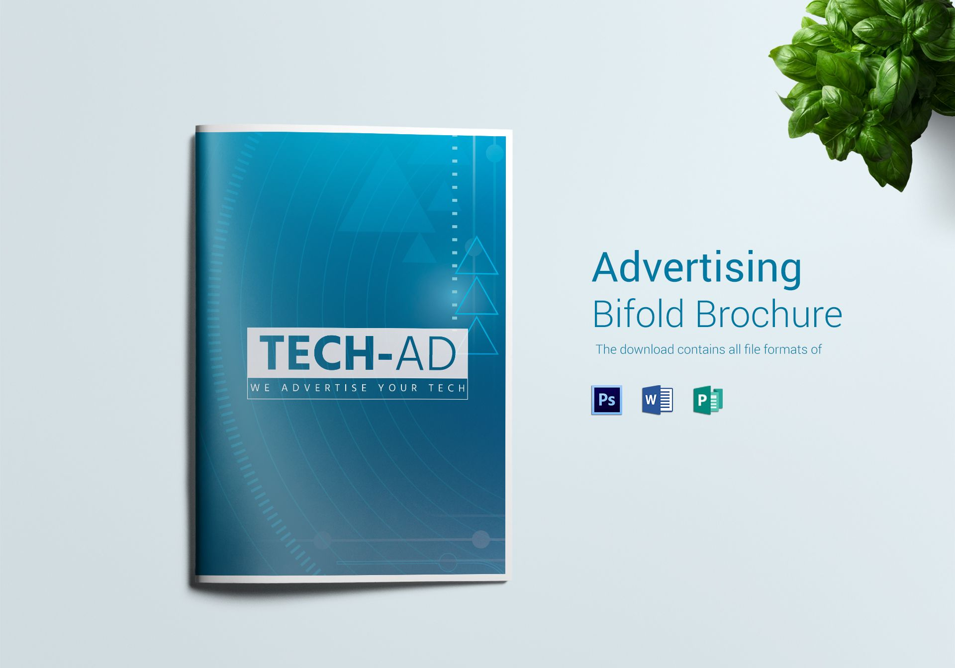 vertising bifold brochure