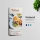 Restaurant Bi Fold Brochure