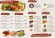 Restaurant Bi Fold Brochure Design Template