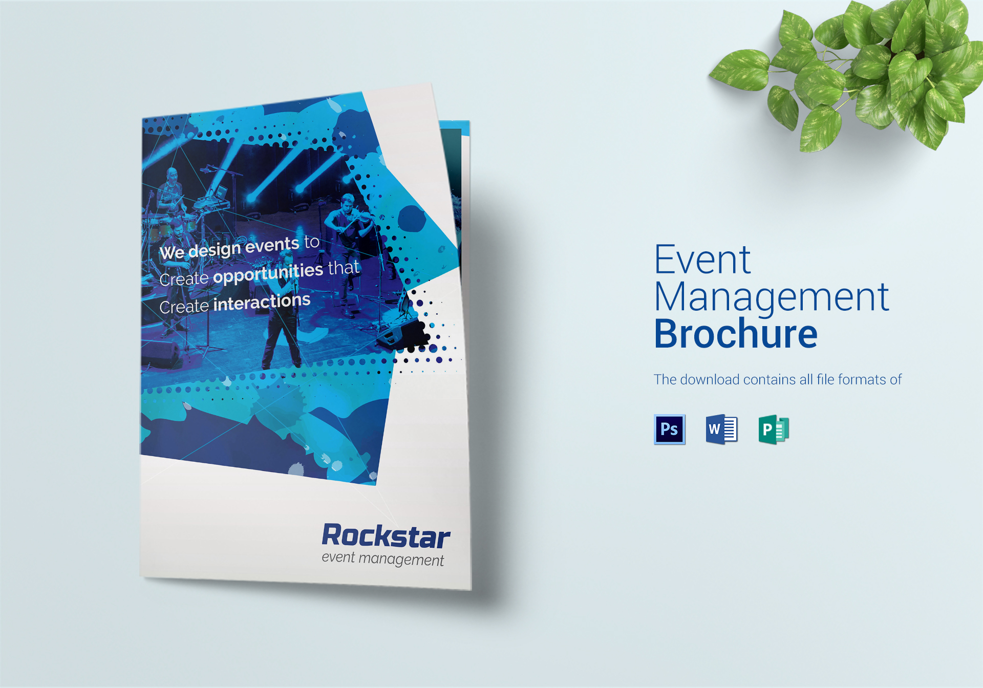 Event Management Bi Fold Brochure