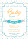 Baby Girl Shower Invitation Design Template
