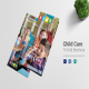 Child Care Tri Fold Brochure Design Template