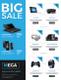 Electronic Big Sale Flyer Design Template