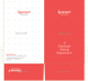 Simple Restaurant Legal Presentation Folder Template