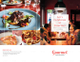 Restaurant Catering Brochure Bifold Template Outer