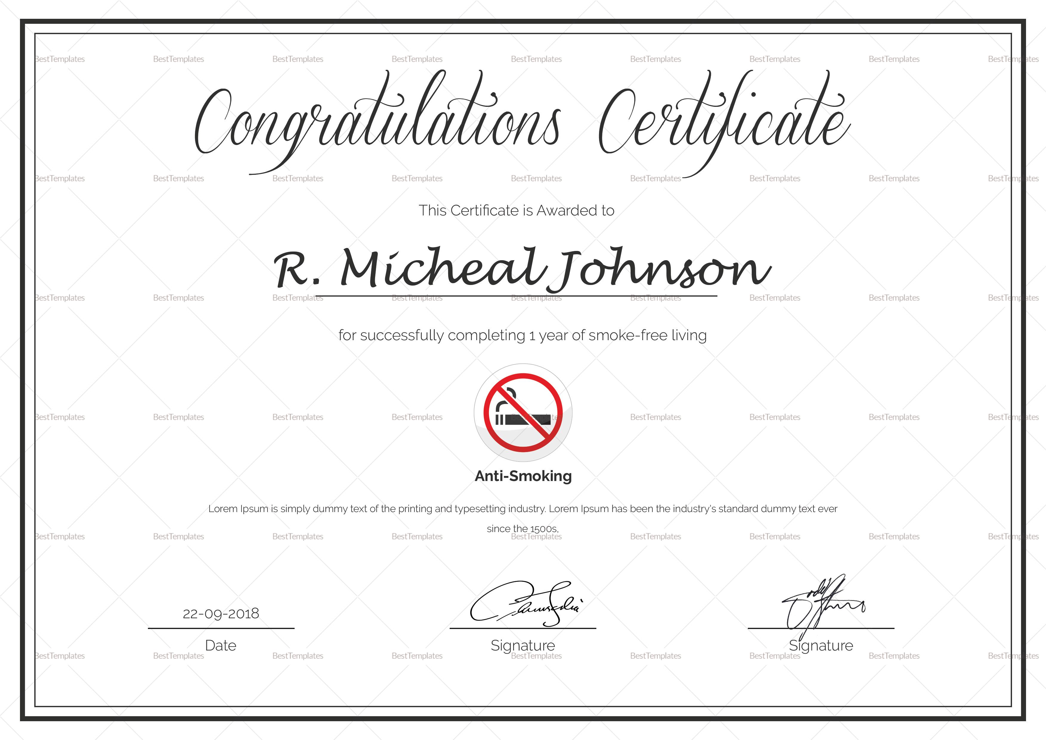 nice congratulations certificate photos  u0026gt  u0026gt  congratulations