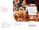 Restaurant Take Out Brochure Trifold Template Outer