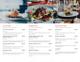 Simple Restaurant Menu Brochure Trifold Inner