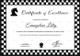 Sample Chess Excellence Certificate Template