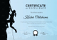 Rock Climbing Training Certificate Template