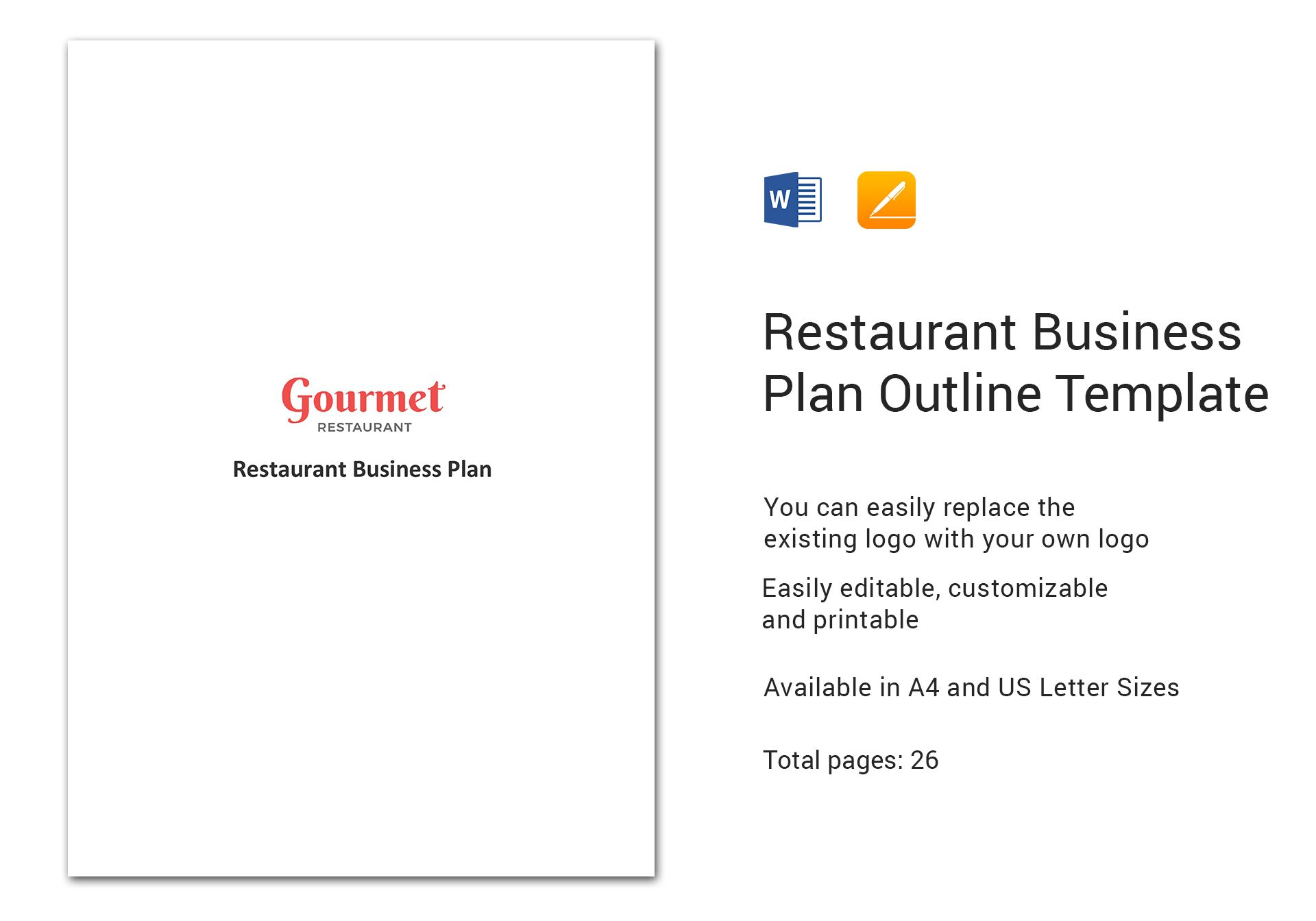 Restaurant Business Plan Outline