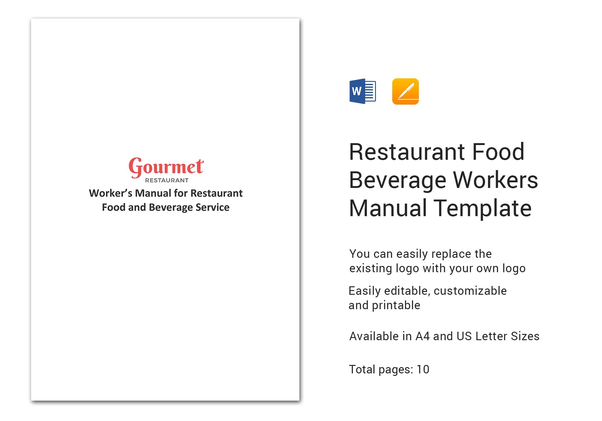 Food Beverage Workers Manual
