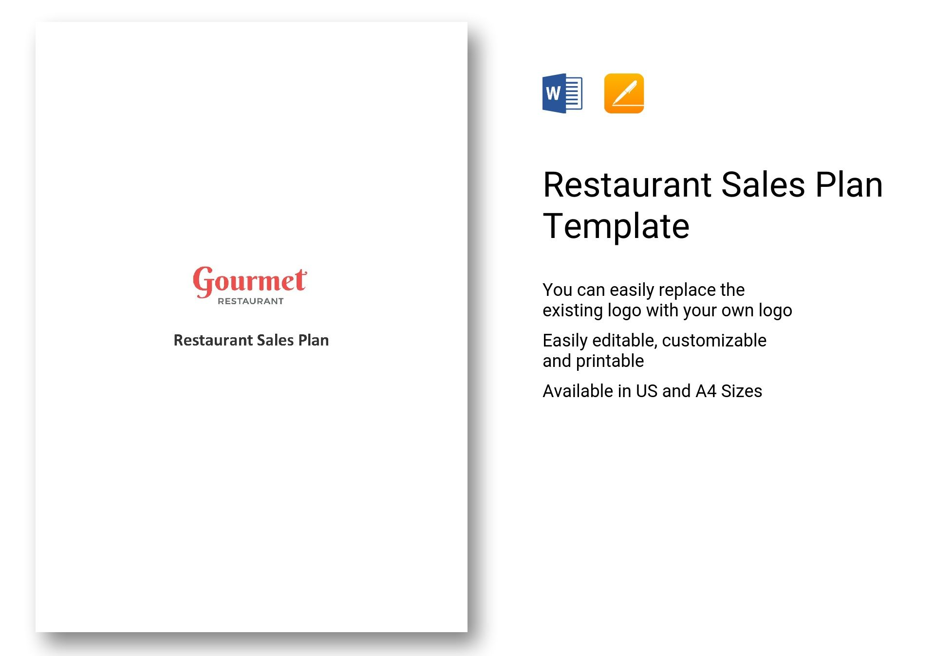 Restaurant Sales Plan