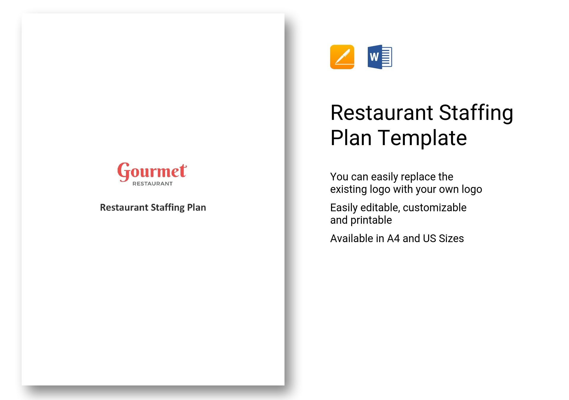 staffing plan template word