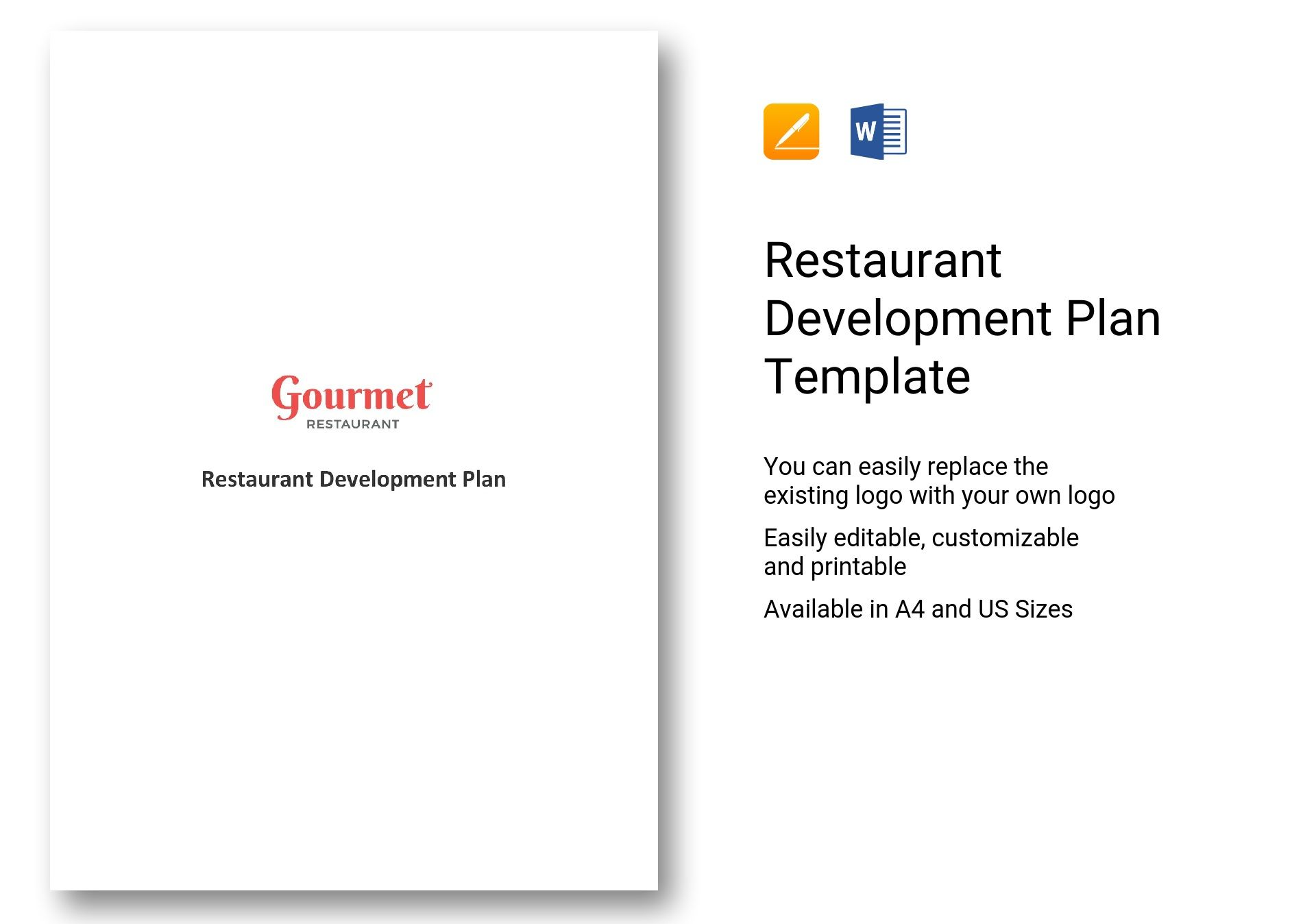 Restaurant Development Plan