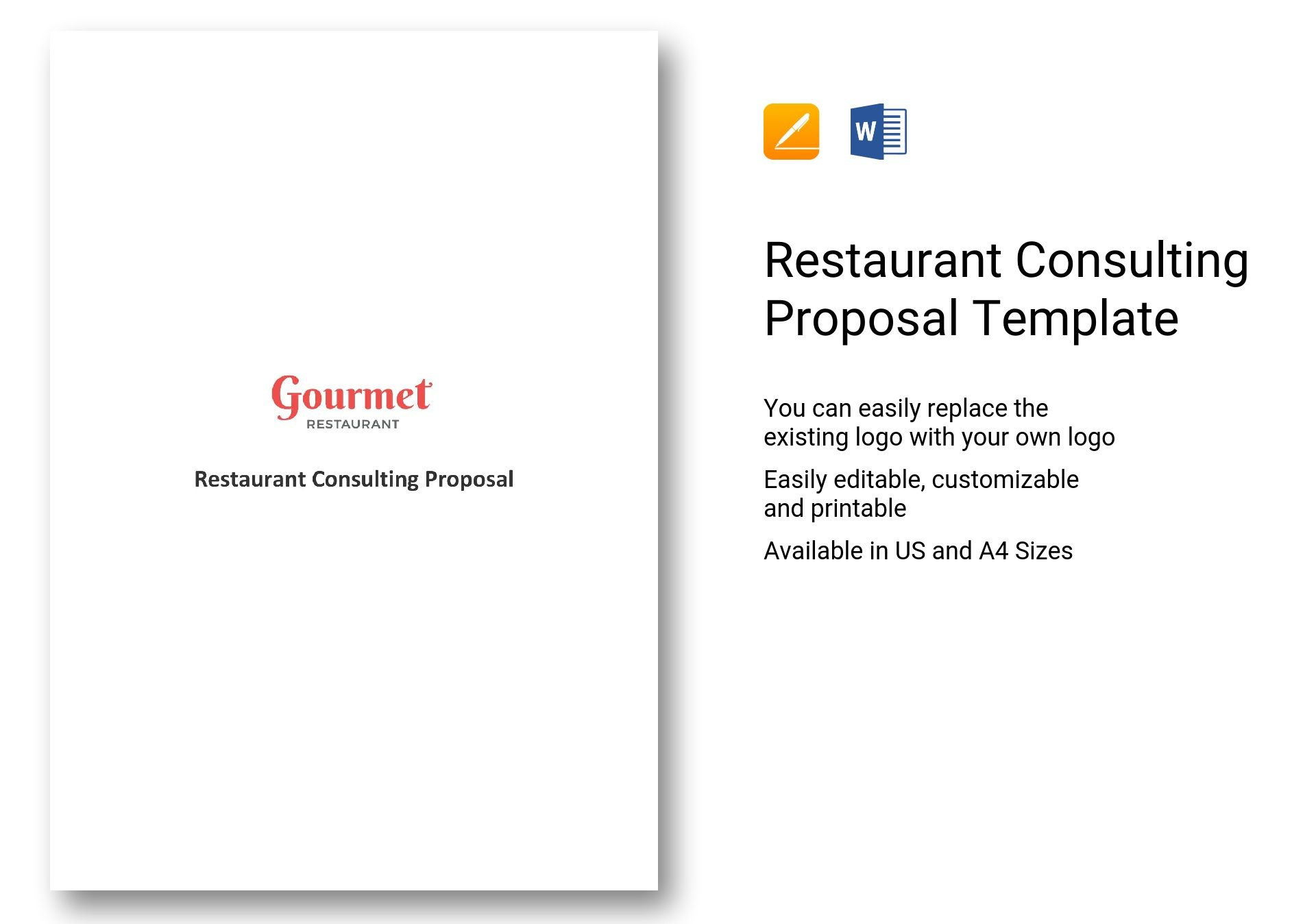 Restaurant Consulting Proposal