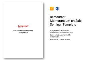 /restaurant/545/545-Restaurant-Memorandum-on-Sales-Seminar-1