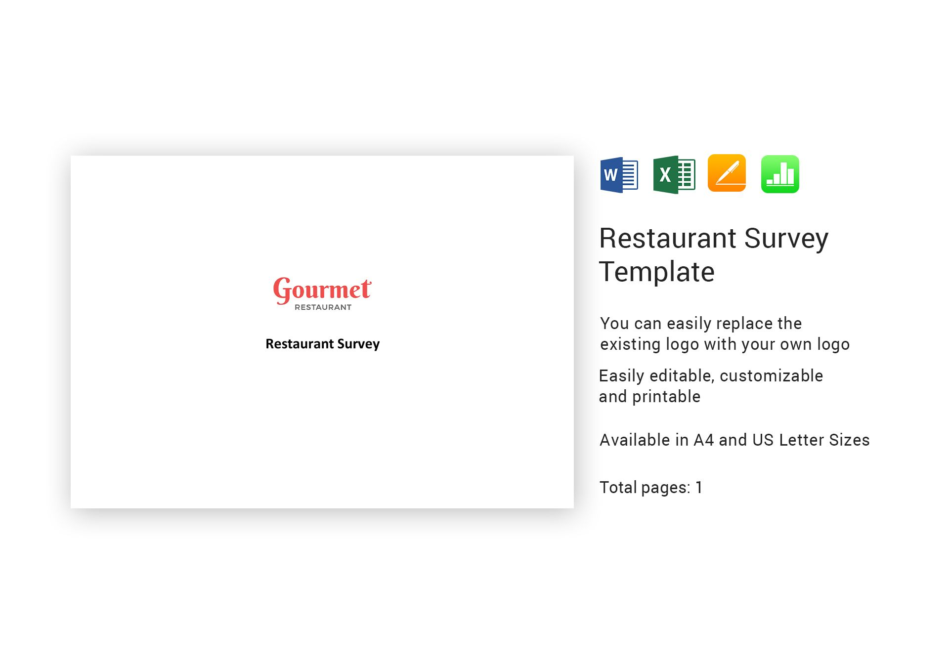 Restaurant Survey