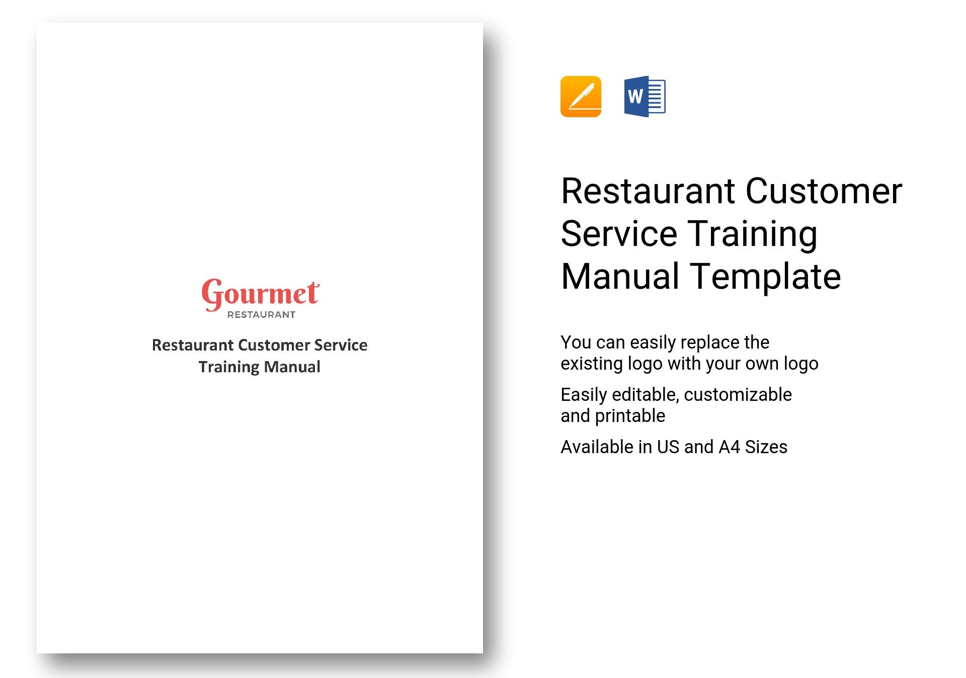 customer service training manual ppt
