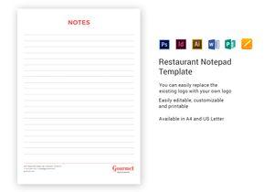 /restaurant/694/Notepad-Template