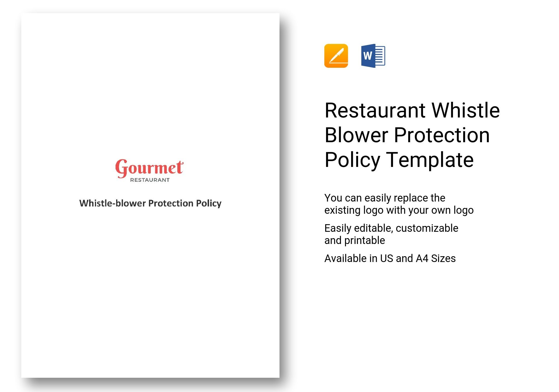 Restaurant Whistle Blower Protection Policy